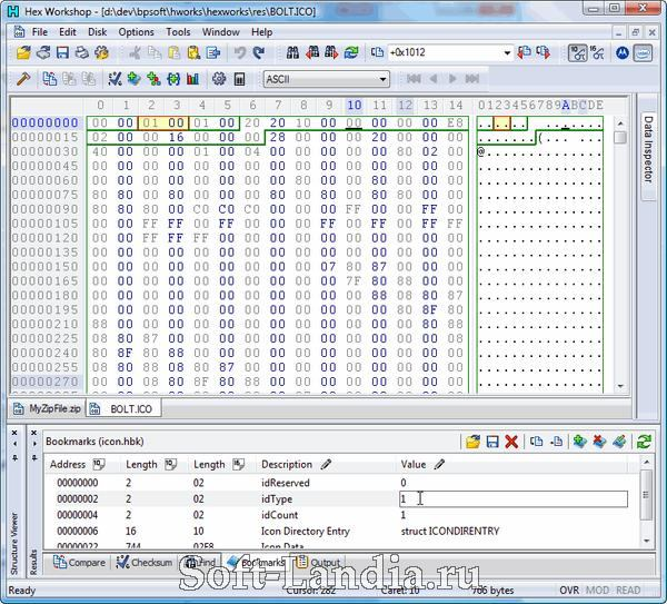 Hex Workshop 6 (Hex editor)