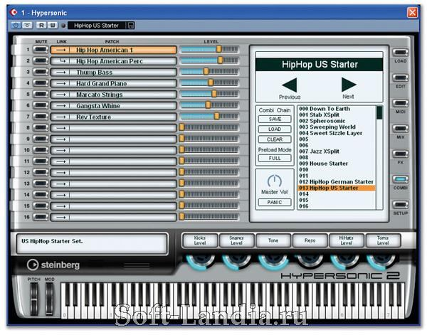 Steinberg Hypersonic 2 - The Ultimate Virtual Music Workstation