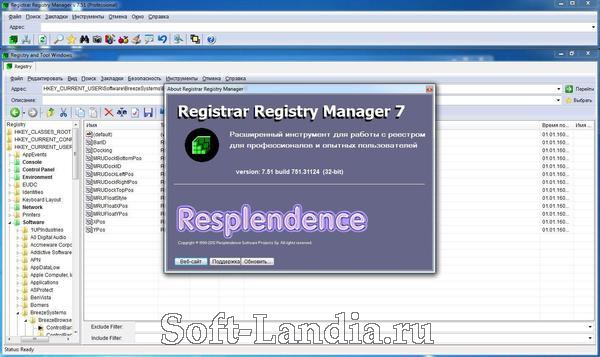 Registrar Registry Manager + Portable