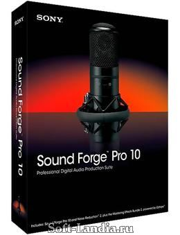Sony - Sound Forge Pro v10.0d Build 506 Final