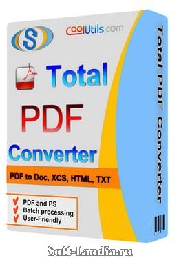 Coolutils Total PDF Converter v2.1.226 Final + Portable
