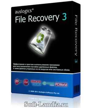 Auslogics File Recovery 3