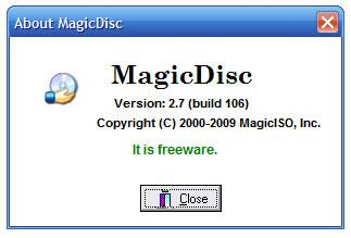 MagicDisc Virtual DVD/CD-ROM