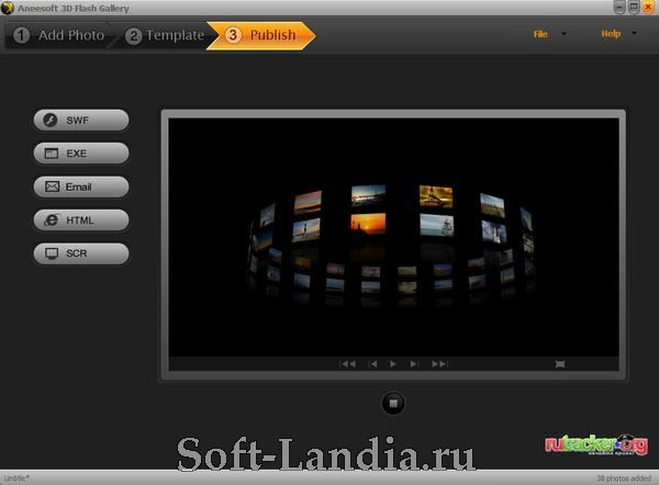 Aneesoft 3D Flash Gallery 2 Portable