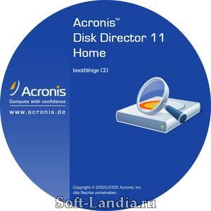 Acronis Disk Director Home 11