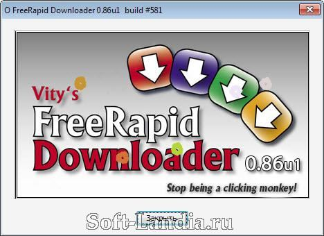 FreeRapid Downloader RUS + Portable