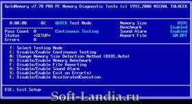 GoldMemory 7.70 Pro REGISTERED