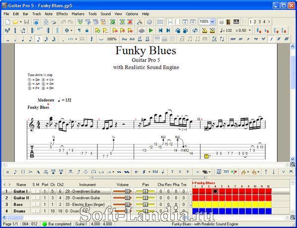 Название Guitar Pro 5.2 Категория Музыка Разработчик Arobas Music.