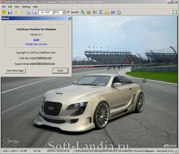 FastStone MaxView 2.4 + Portable