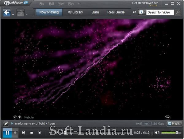 RealPlayer SP (Plus) v1.1.3 build 12.0.0.653