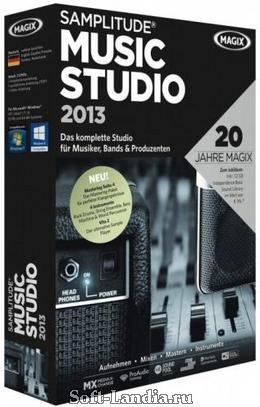 MAGIX-Samplitude Music Studio 2013 v19.0.015
