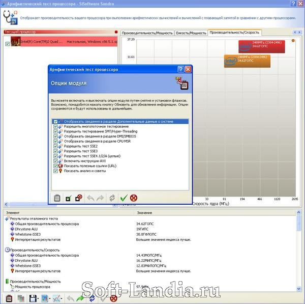 SiSoftware Sandra Professional Home / Business / Enterprise / Engineer Standard v2011.10.17.80 (SP5)