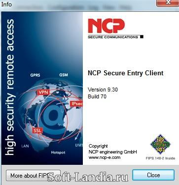 NCP Secure Entry Client 9
