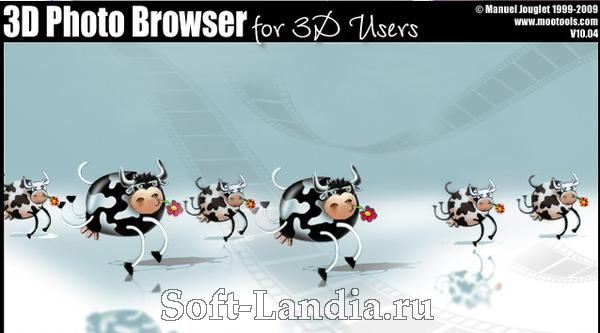 Mootools 3D Photo Browser