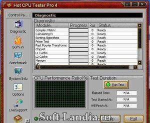 Скачать программу тест процессора