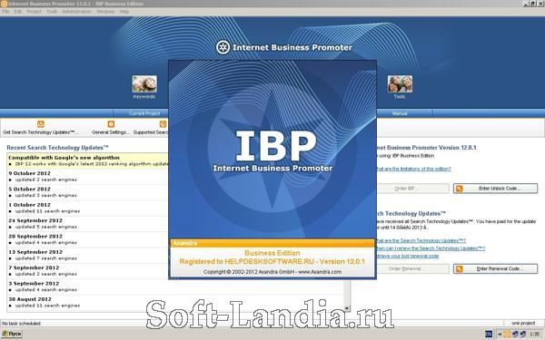 Internet Business Promoter (IBP) 12 Business Edition