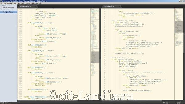 Sublime Text 2 (Windows and Linux)