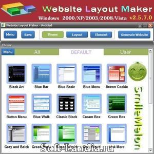 Website Layout Maker