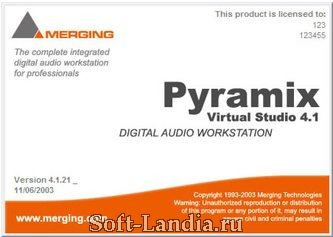 Pyramix Virtual Studio