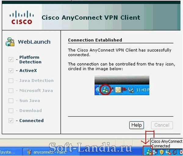 Cisco AnyConnect Secure Mobility Client 2.5