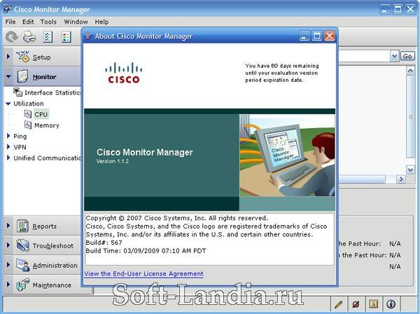 Cisco Monitors: Director + Manager
