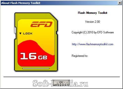 Flash Memory Toolkit