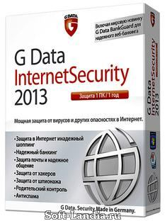G Data InternetSecurity 2013