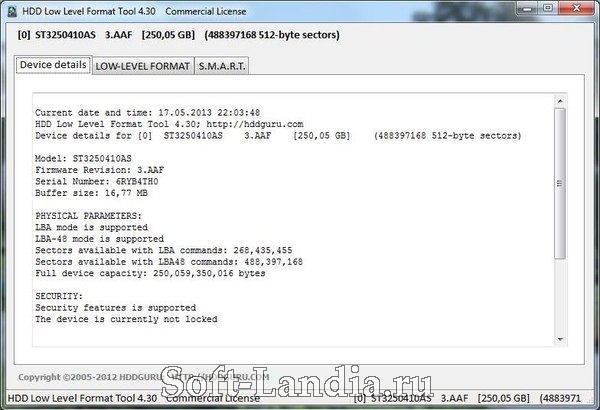 HDD Low Level Format Tool + Portable