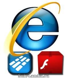 Internet Explorer 8 + Save Flash (Portable)
