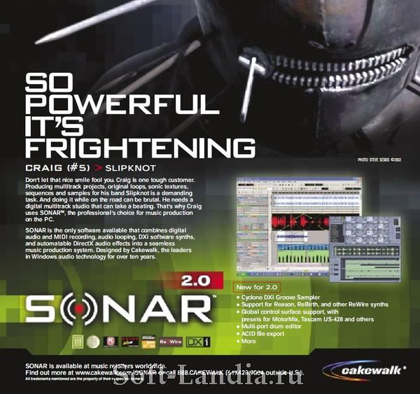 Sonar 2 XL +update to 2.2