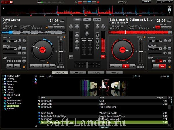 Virtual DJ Pro v 7.4 (Final/Portable/PortableAppZ)