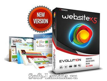 Incomedia WebSite X5 Evolution