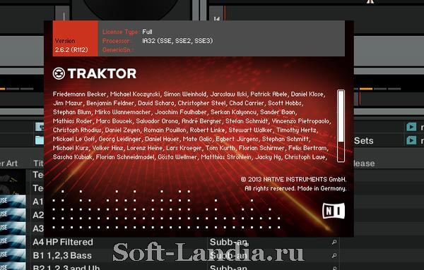 Native Instruments - Traktor Scratch Pro 2.6.2