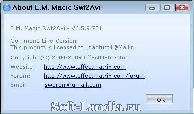 E.M.Magic Swf2Avi