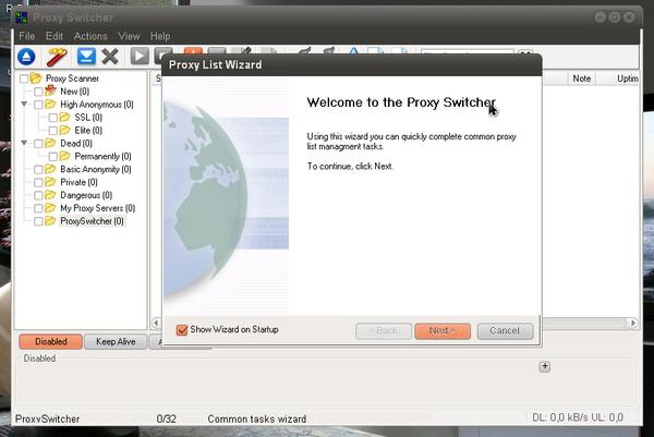 Proxy Switcher 5