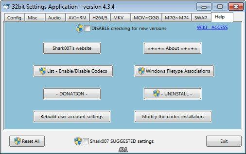 ADVANCED Codecs for Windows 7 and 8