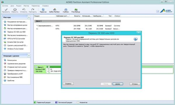 AOMEI Partition Assistant Professional Edition v5.5