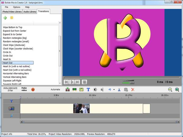 Bolide Movie Creator