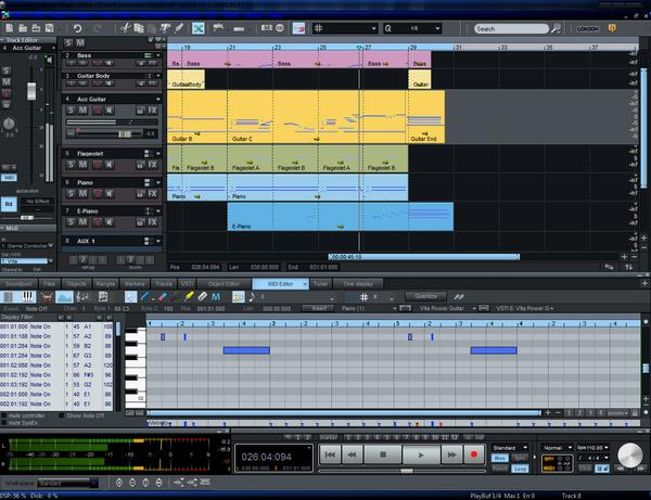Magix Samplitude Music Studio 2014 v20.0.2.16