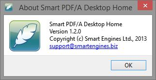 Smart PDF/A Desktop Home 1.2