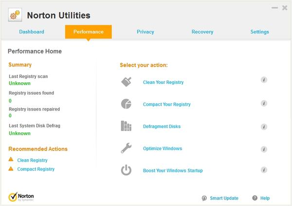 Symantec Norton Utilities 16