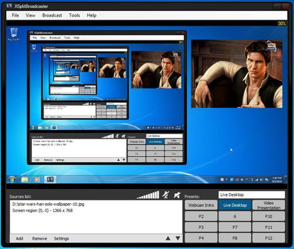 Скачать Xsplit broadcaster 1.0 1207.2601 x86 x64 2012, ENG - ТОРРЕНТИНО - с